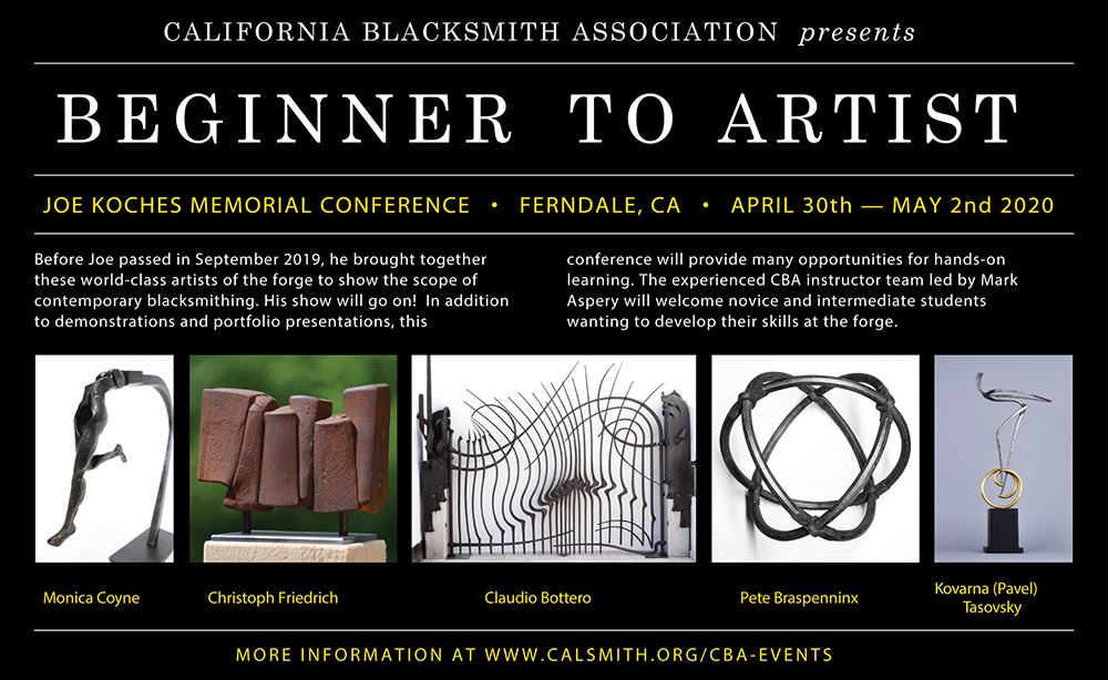 Events For Memorial Weekend 2020 In California.California Blacksmith Association Spring Conference 2020